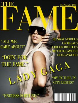 Lady Gaga - Magazine Mock Up by CdCoversCreations