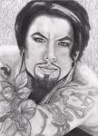 Dave Navarro by candysamuels