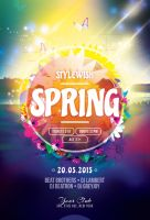 Spring Flyer Template by styleWish