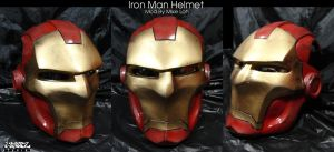 Iron Man Helmet by Uratz-Studios