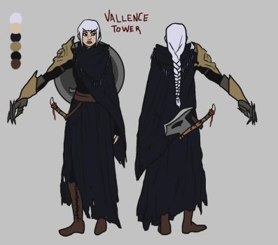 Vallence Character Sheet by IneffableWitch
