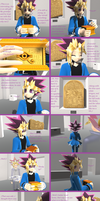 MMD Yu-Gi-Oh-The Start-(Short comic) by YugixYamiLove4ever
