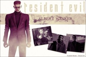 Albert Wesker Wallpaper by AnabellaWesker