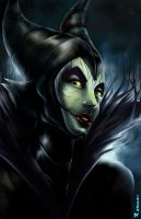 Maleficent 4 CGPintor by aerlixir
