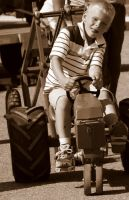 Kiddie Tractor Pull 2 by eyenoticed