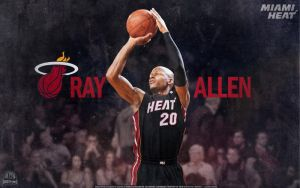 Ray Allen Miami Heat Wallpaper by lisong24kobe