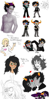 Homestuck Dump 2 by MelvisMD