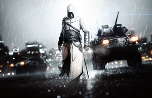 Altair with Battlefield 4 style by alif32
