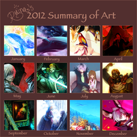 2012 Art Summary by ruina