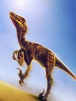 Utahraptor Sprints by hinxlinx