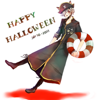 marimo Halloween by lehannaa