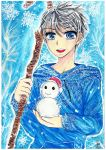 Greeting from Jack Frost by ivoryneva