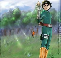 ::Rock Lee:Get Some:: by heiesuke