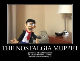 Motivation - The Nostalgia Muppet by Songue