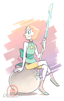 Sketch Dailies - Pearl by AdriOfTheDead