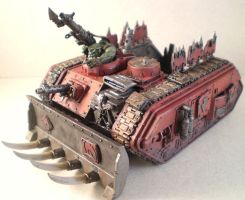 Ork Looted Wagon by Punk-Noir