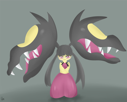 Mega Mawile by Eyepatched