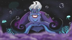 Ursula the Enchantress by Lightninglizard