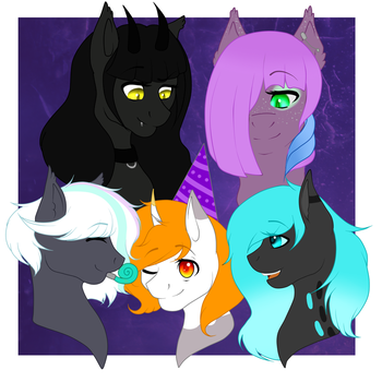 Batty Party! (CONTEST) by Sagethechibi
