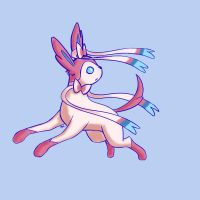 sylveon by madkoog