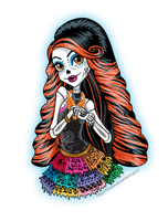Monster HIgh : Skelita Calaveras by Flooks