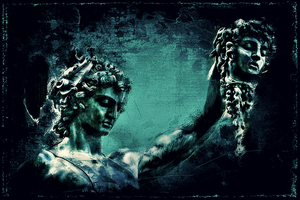 Perseus and the Head of Medusa by Quadraro