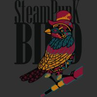 SteamPunk Bird by WhisperingDreamsart