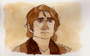 Bilbo Baggins. by tisserande