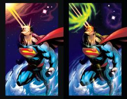 WSFX Color Test - Superman by ryuzo