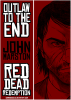 John Marston:Outlaw to the end by SamGreenArt
