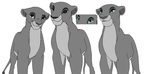 Lionesses by kisini