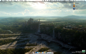 My Mac Desktop 5-5-2009 by EricJD
