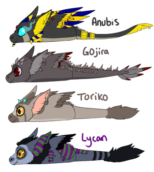Angel Dragon loafs by Cerpquake