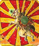 .The origin of all that is good : Okami Amaterasu. by ginga-wolf97
