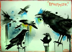 Nevermore by dingbat23