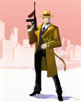 Dick Tracy Returns by ninjaink
