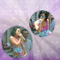 Demi Lovato Photo Pack by foreveralone21