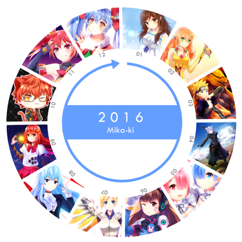 2016 Art Summary by Mika-ki