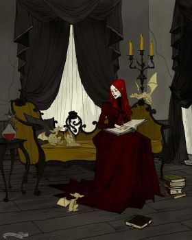 Storytime with Goblins II by AbigailLarson