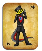 King Of Clubs:Barney(Coloured) by Barn-flakes