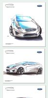 Ford Focus Sketches by Slavche