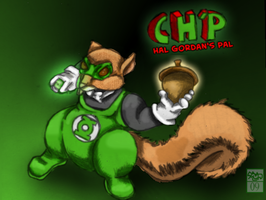 Ch'p, Super-squirrel by Ohthehumanityplz