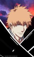 Bleach-547 Ichigo Kurosaki : Chapter of Farewell by Nineonme