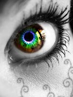 Rainbow Eye by Tayet