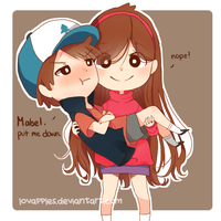 Pines Twins by Lovapples