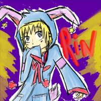 Rin the Bunny .:mikafu:. by BP-wolf