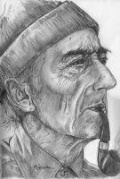 Jacques Cousteau by marcgosselin