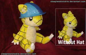 Windshrew Plush by SleeplessTotodile