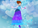 Comix: Nina Flower Princess Ball Gown by GlimmeringAngel26