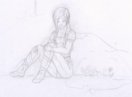 Borderlands : Quiet Spot WIP by Striped-Tie